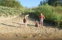 В Днепропетровске закончили чистку дна пляжной зоны в парке им. Шевченка