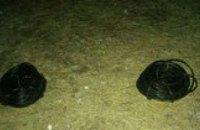 В Каменском поймали похитителя интернет-кабеля