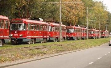 19 апреля в Днепре изменится движение трамваев №5 и №1