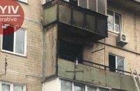 В Киеве произошел масштабный пожар в многоквартирном доме (ФОТО)