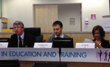 В Брюсселе представили опыт развития профессионально-технического образования Днепропетровской области