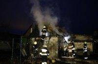 В Новокадацком районе Днепра сгорела баня