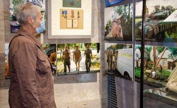 В Музее АТО открыли выставку «Нью-Йорк–Иловайск: выбор», посвященную добровольцу Маркияну Паславскому из США