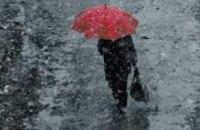 Сегодня в Днепропетровске дождливо и ветрено