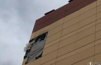 На Днепропетровщине во время сильного ветра снесло обшивку с новой многоэтажки (ФОТО)