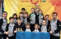 Спортсмены из Днепра стали чемпионами на международных соревнованиях по тхэквондо