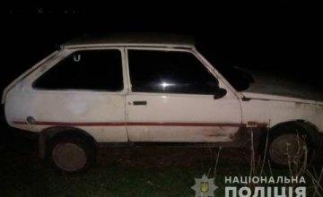 На Днепропетровщине пьяный мужчина угнал автомобиль знакомого и ограбил свою бывшую жену