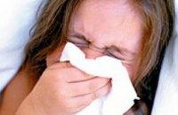 В Украине за последнюю неделю около 70 тыс детей заболели гриппом