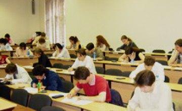 Более 6 тыс. детей из Днепропетровска прошли пробное тестирование