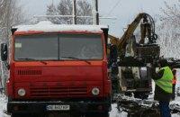 Коммунальщики капитально отремонтировали трамвайные пути на улице Строителей