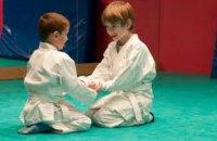 В Днепропетровске детей переселенцев и участников АТО приглашают на бесплатные занятия Айкидо