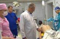 В больнице Мечникова прооперировали нацгвардейцев, подорвавшихся на растяжке