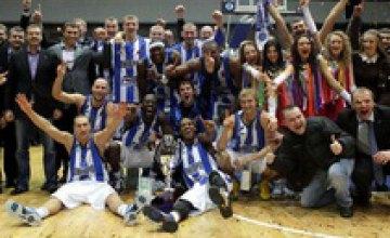 Баскетбольный «Днепр» впервые в истории стал обладателем Кубка Суперлиги