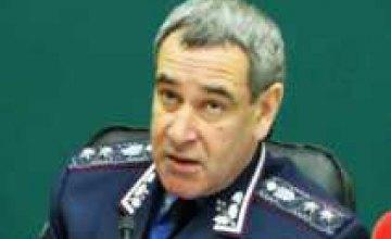 Главный милиционер Днепропетровской области боится ездить на мотоцикле