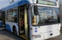 В Днепре троллейбус №2 возобновил свою работу