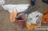 На Днепропетровщине мужчина хранил у себя дома 150 кг меди