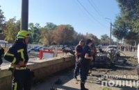 СБУ начало расследование относительно взрыва автомобиля в Днепре