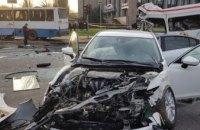 Стали известны подробности резонансной аварии с участием двух пассажирских автобусов в Кривом Роге (ФОТО)