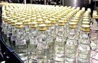 Днепропетровские налоговики изъяли из оборота 27 тыс. бутылок поддельной водки