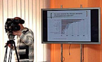 Пресс-конференция «Информационное поле Днепропетровска»: Результаты днепропетровского социологического исследования в рамках год