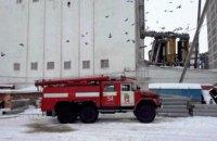В Днепропетровской области горел элеватор (ФОТО)