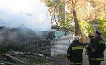 По неизвестным причинам загорелось кафе по ул. Комсомольской, 20