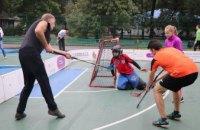В Днепре при поддержке Геннадия Гуфмана и регионального олимпийского комитета прошли соревнования по флорболу среди медийщиков