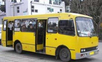 В Киеве водитель маршрутки умер за рулем
