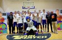 Молоді спортсмени з Дніпра стали призерами Всеукраїнської баскетбольної ліги