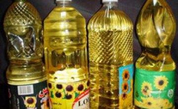 В Днепропетровске снизились цены на подсолнечное масло