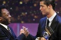 Криштиану Роналду назван лучшим футболистом 2008 года в мире по версии ФИФА