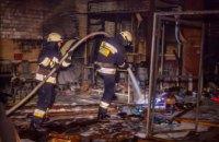 В Днепре при невыясненных обстоятельствах сгорел гараж