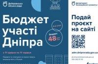 Збільшення бюджету та нові групи проєктів: розпочався VI етап Бюджету участі Дніпра
