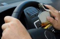 За сутки в Днепропетровской области поймали 18 пьяных водителей