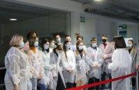 На заводе ABM Technology состоялась экскурсия для учеников медицинского лицея «Днипро» (ФОТО)