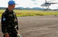Украинские миротворцы обеспечат стабильность выборов в Либерии