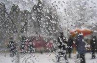 Сегодня по всей территории Украины прогнозируют сильный дождь
