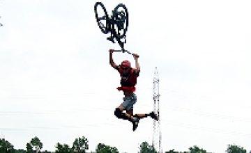 Экстрим-шоу «Fun-jumping» в Днепропетровске (ФОТОРЕПОРТАЖ)