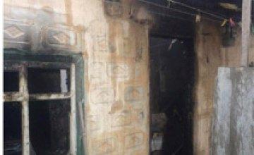 В Днепре на пожаре погиб человек (ФОТО)