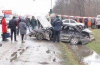 В Черновецкой области иномарка столкнулась с грузовиком: погибло 4 человека (ФОТО)