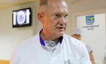 За последние неделю в больницу Мечникова поступило 30 тяжелораненых бойцов