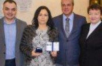 В ДнепрОГА наградили волонтерку Диану Дольс за помощь больницам региона: как это было