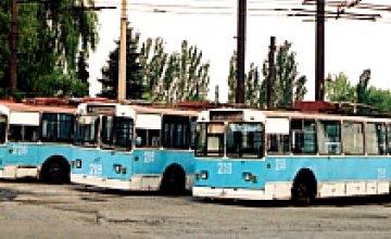 Днепропетровские власти установили в троллейбусном депо №1 оборудование, экономящее воду