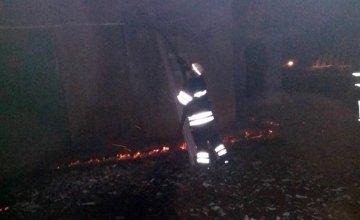 В Киевской области сгорел свинарник (ФОТО)