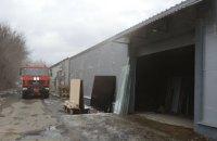 В Подгородном горел склад: огнем повреждено 200 кв. метров