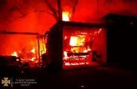 Ночью на Днепропетровщине горел дом: огнем уничтожено 60 кв.метров