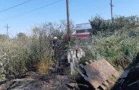 В Днепре из-за возгорания сухой травы огонь перекинулся на частные дома