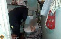 75- летняя жительница Днепра застряла в ванной