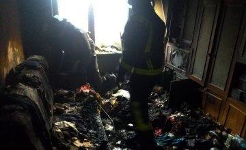 На Днепропетровщине хозяйка квартиры отравилась угарным газом во время пожара