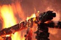 На Днепропетровщине в результате пожара в доме погиб человек